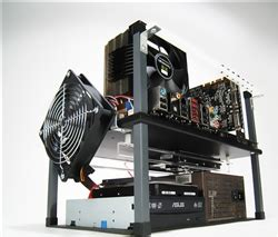 Fan Pc Std half deck tech station standard size atx