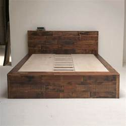 Bed Frame Designs Wood 25 Best Ideas About Wooden Beds On Wooden Bed
