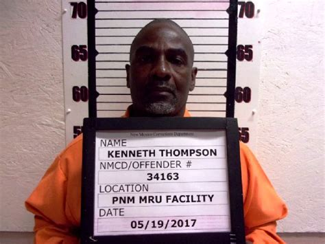 Albuquerque Inmate Records Kenneth Dwayne Thompson Inmate 9366 New Mexico Doc