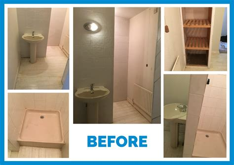 En Suite Badezimmer by Lichfield Ensuite Makeover Desire Bathroom Interiors