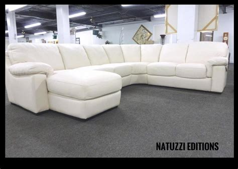 natuzzi white leather sectional natuzzi editions by interior concepts furniture blog