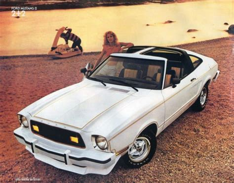 1978 ford mustang ii 1978 ford mustang ii king cobra disco compact supercar