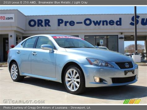 lexus light blue breakwater blue metallic 2010 lexus is 250 awd light