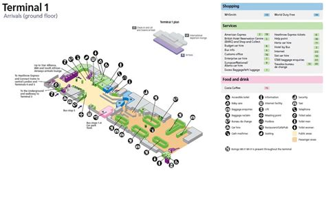 Hong Kong International Airport Floor Plan by Image Gallery Terminal 1 Arrivals