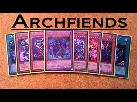 yugioh feen deck yugioh archfiend deck profile january 2015 1st draft