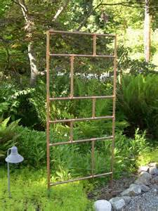 Garden Trellis Plans These Metal Garden Trellises Are Beautiful With Or Without