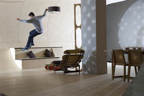 skateboard home design skateboard house in malibu designed by a boarder for a