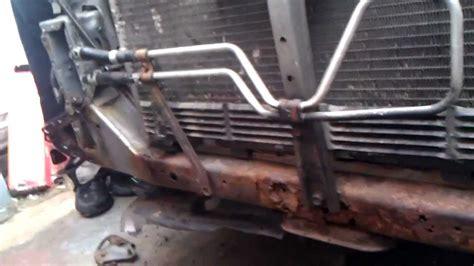 2000 nissan maxima radiator fan not working nissan maxima lower radiator support project youtube