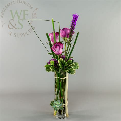 Wholesale Bud Vases by Square Glass Bud Vase 10x2x2 Wholesale Flowers And Supplies