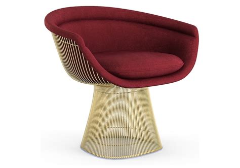 gold chaise lounge chair platner knoll lounge chair in gold milia shop