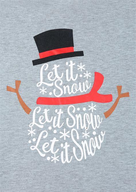 christmas  size   snow snowman baseball  shirt