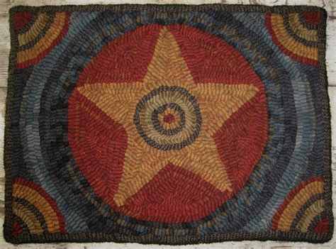 primitive rug hooking patterns primitive rug hooking pattern americana