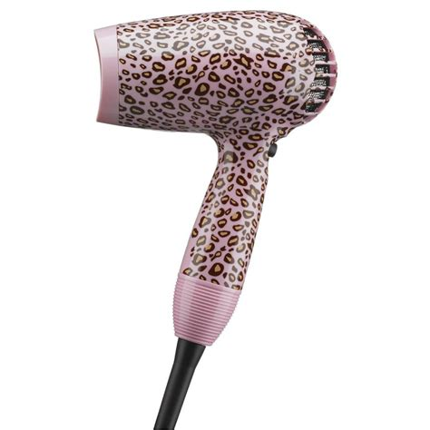 Leopard Print Hair Dryer cheetah print