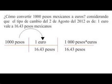 cuanto vale un yen 2016 191 c 243 mo convertir pesos mexicanos a euros youtube