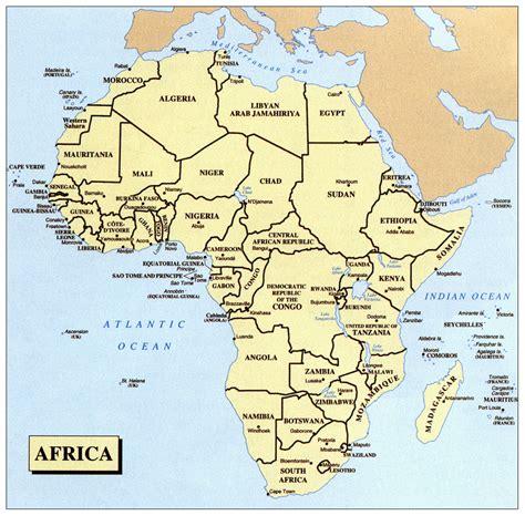 africa map uganda image gallery large africa map