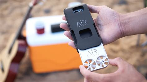 Drone Air Selfie airselfie a pocket drone for selfie