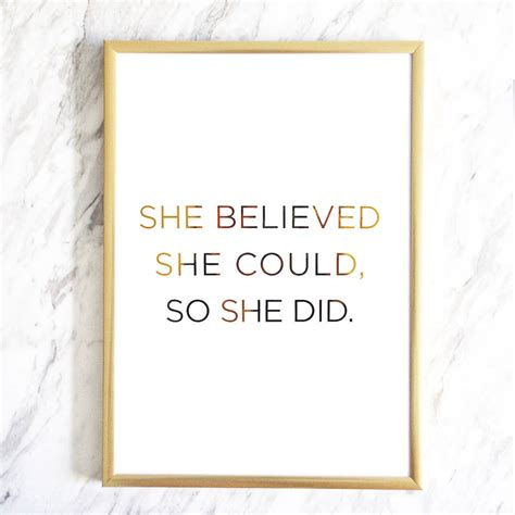 she believed she could so she did 2018 empowerment weekly monthly planner with to do lists inspirational quotes motivational diaries volume 1 books she believed she could so she did gold foil print by