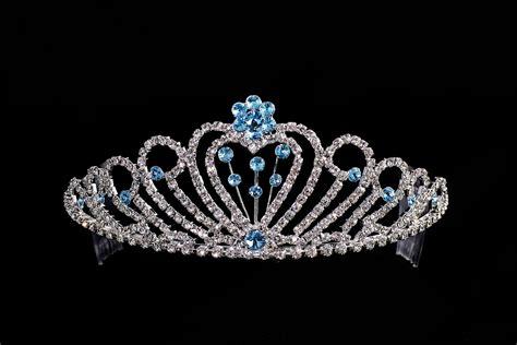 bridal tiara rhinestone quinceanera pageant tiaras crowns