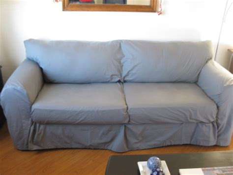 cover couch with sheet how to make a couch slipcover from sheets scribbles from