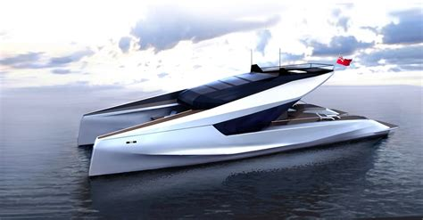 catamaran power boat hull design jfa yachts builder of popular charter yacht windquest to