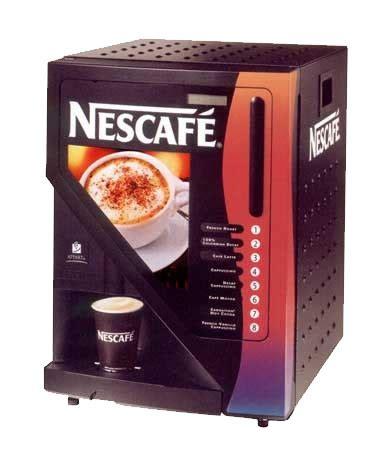nescafe maquina de maquina de cafe fotos imagens