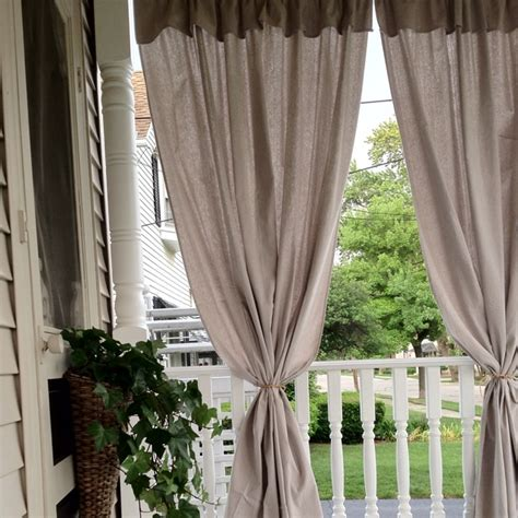 outdoor curtain tie backs 17 best images about back porch on pinterest kids rooms
