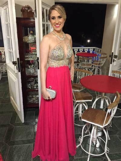 C Sale Halter Knit Dress Pink Navy Merah Dress Cewek halter chiffon charming custom made prom dress evening dress prom dresses on luulla