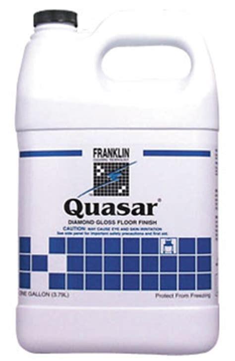 quasar low maintenance floor finish franklin cleaning