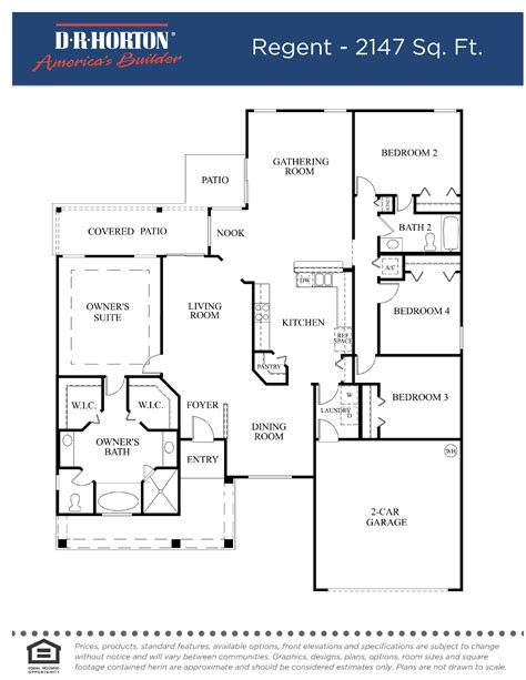 dh horton floor plans dh horton floor plans best free home design idea