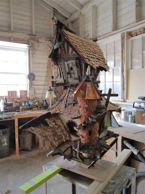 crooked whimsical birdhouse  crooked  lumberjockscom
