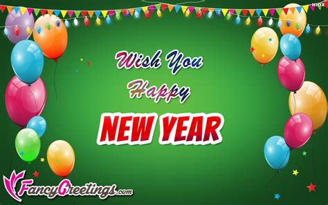 wishing you a happy blessed new year wish you happy new year ecard greeting card fancygreetings