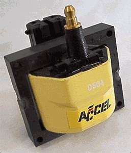 gm coil resistor accel 140011 1984 1995 gm ignition coil