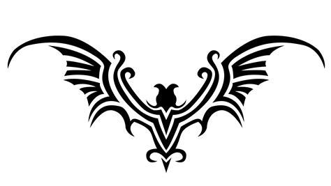 tribal bat tattoo bat design
