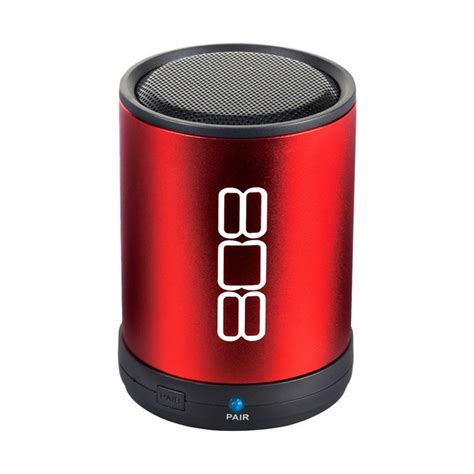 Garage Shops by 808 Audio 174 Sp880rd Bluetooth Portable Speaker Red