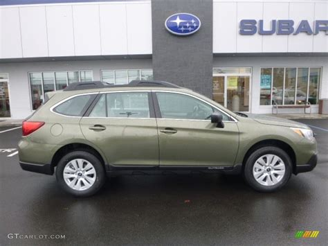subaru wilderness green 2017 2017 wilderness green metallic subaru outback 2 5i
