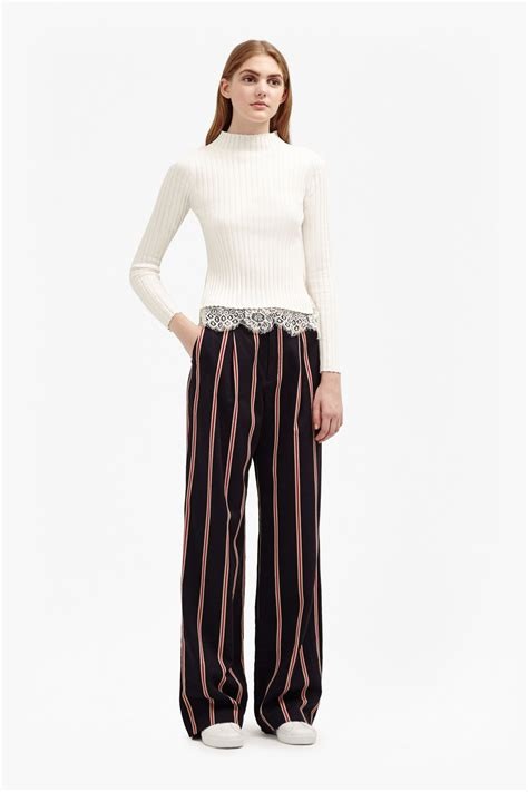 striped wide leg freddy stripe coord wide leg trousers collections