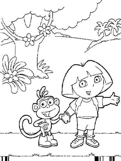 dora and buji coloring page dora buji wallpapers cliparts co