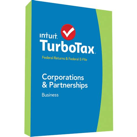 intuit turbotax business federal e file 2014 424485 b h