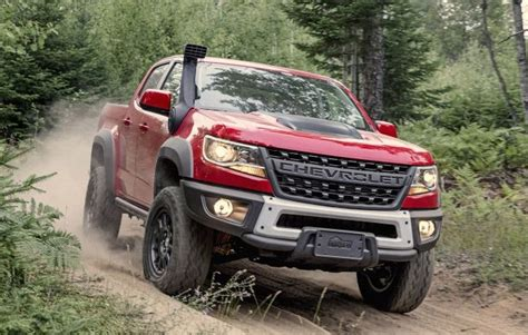 2020 Chevrolet Colorado Zr2 by 2020 Chevy Colorado Zr2 Bison Design Specs Truck Release