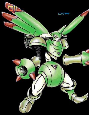 Digimon Rapidmon Bandai Original dma digi dex rapidmon tamers variations