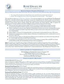 Resume Sample Nursing by Nursing Resume Sample
