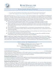 Exles Of Nurses Resumes by Resume New Calendar Template Site