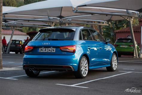 Test Audi A1 by Schon Gefahren Audi A1 Sportback 1 4 Tfsi Cylinder On