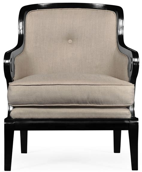 Upholstered Occasional Arm Chair Black And Upholstered Occasional Chair