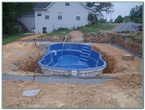 small inground swimming pools small inground fiberglass pool kits pools home