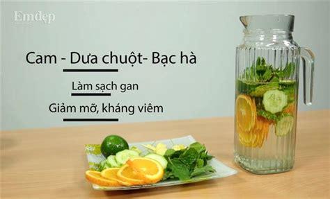 Cach Lam Nuoc Detox Kiwi by C 225 Ch L 224 M Nước Detox Giảm C 226 N Ti 234 U Mỡ Chỉ Trong Nh 225 Y Mắt