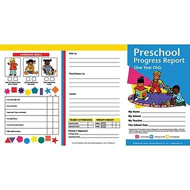 spot it card template for 3 year olds preschool progress report card 10 pack staples 174