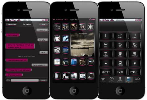 pink themes for iphone top 5 best iphone 4 hd themes jailbreak imore