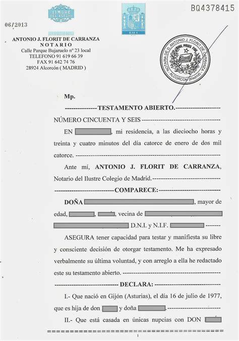 il testamento abogado para familias el testamento clases de testamentos