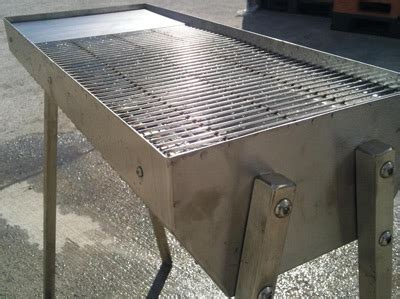 Prefab Outdoor Kitchen Island Stainless Steel Charcoal Grills Commercial Grade Uk Made